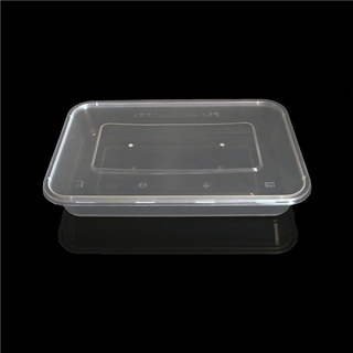 1200ml eco friendly disposable plastic takeout food packaging containers